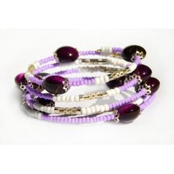 Náramek - Klenoty ve fialovém