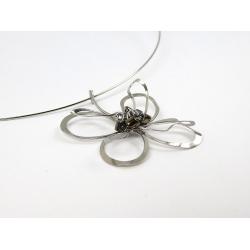 Přívěsek z chirurgické oceli Květ lásky